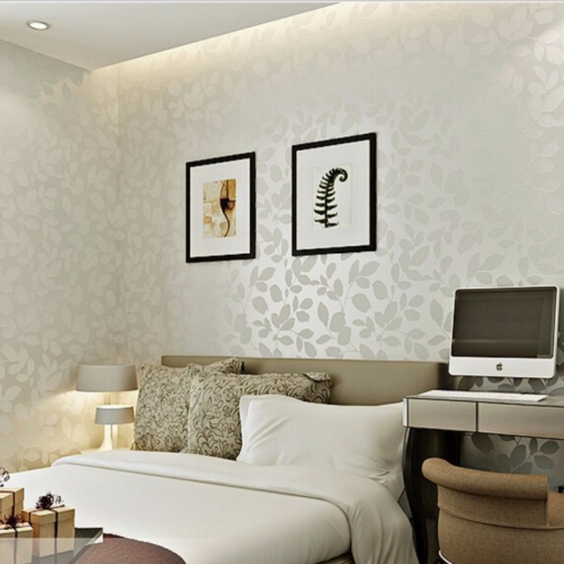 3d room wall paper landscape bedroom simple and stylish for Stylish wallpaper for home