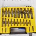 150 Pcs/Case 0.4-3.2mm Mini Broca Poder Ferramentas de Precisão Pequena Torção Perfuração Bit Set HSS Microtech Kit com Caixa De Plástico