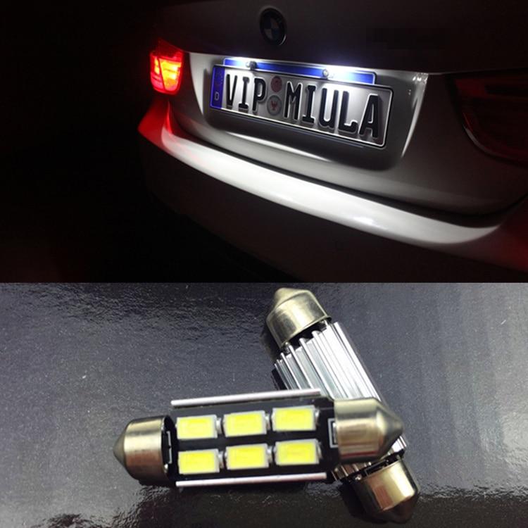 BMW 3 SERIES E90 E91 XENON PURE WHITE NUMBER PLATE LED Light Bulbs CANBUS