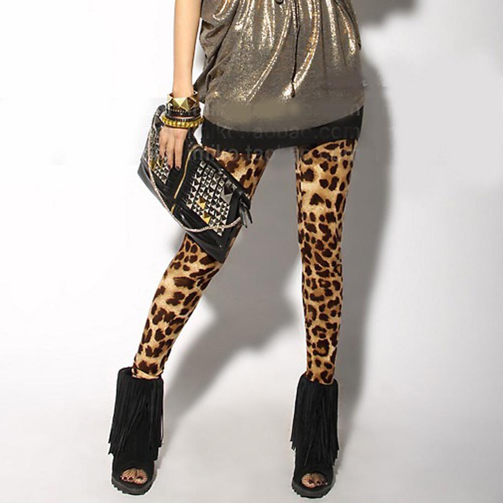 Women Sexy Leopard   Leggings   Lady Render Stretch-cotton Elastic   Leggings   88 JL