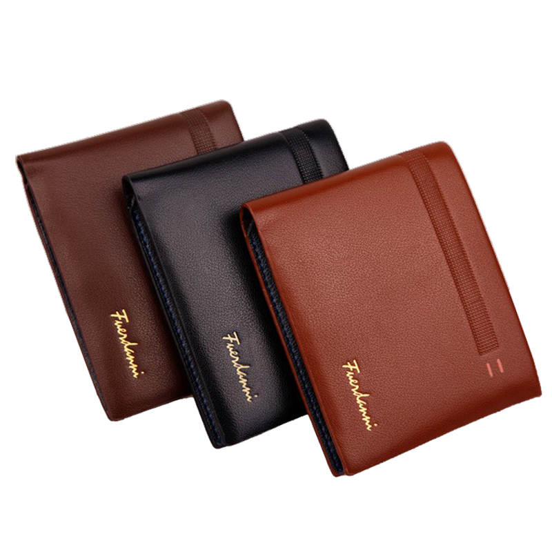 Classic Famous Brand Solid Leather Men wallets Luxury designer purse with card holder monederos carteras hombre bogesi men wallets famous brand men s money wallet men s wallets soft card case new classic soild designer wallet card holder