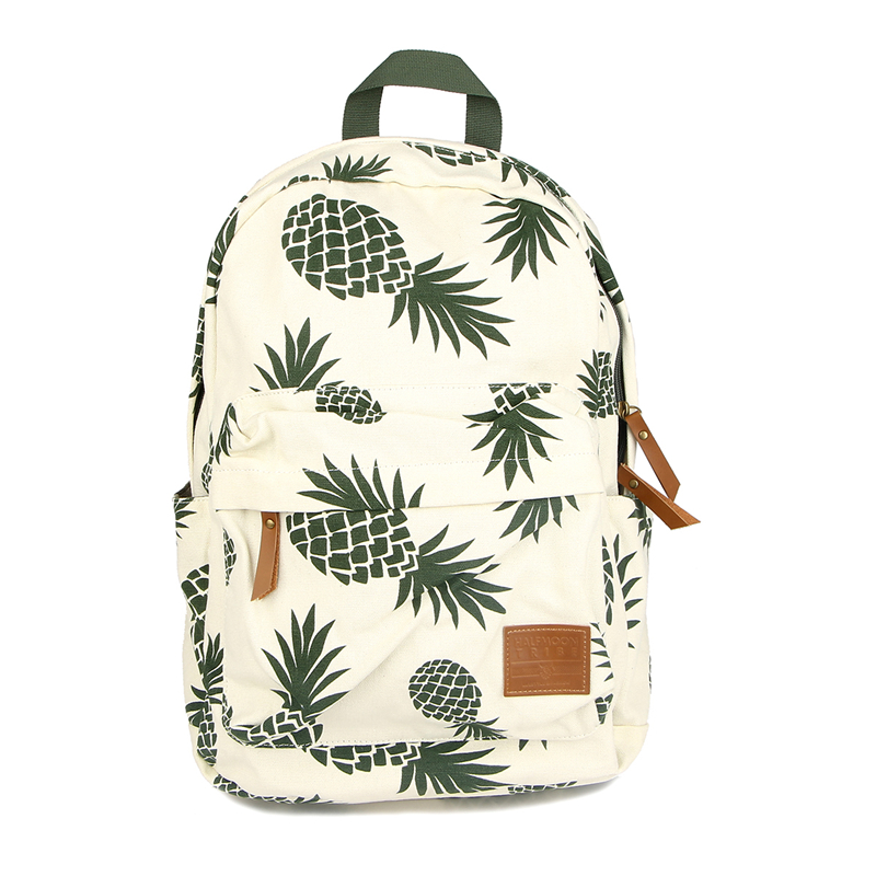 New Designed Backpack Pineapple Printing School Bags For Teenager Girls Casual Bookbags Travel Bag Laptop Rucksack Mochila Li581 harajuku style ice cream printing backpack high middle school student shoulder bag backpack for teenager girls casual travel bag