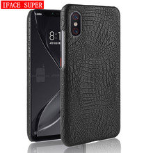 Xiaomi Mi 8 Pro Case Xiaomi 8Pro Luxury Crocodile pattern PU leather B