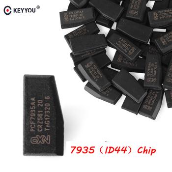 KEYYOU 5x klucz samochodowy Chip ID44 ID 44 Chip PCF7935AA Immobilizer Chip Carbon dla BMW 1 3 5 7 seria Transponder zapłonu pojazdu tanie i dobre opinie without For BMW In China