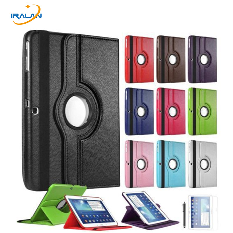 2017 wholesale Case For Samsung Galaxy Tab 3 10.1 inch P5200 P5220 P5210 Tablet Cover 360 Rotating +Screen Protector+stylus2017 wholesale Case For Samsung Galaxy Tab 3 10.1 inch P5200 P5220 P5210 Tablet Cover 360 Rotating +Screen Protector+stylus