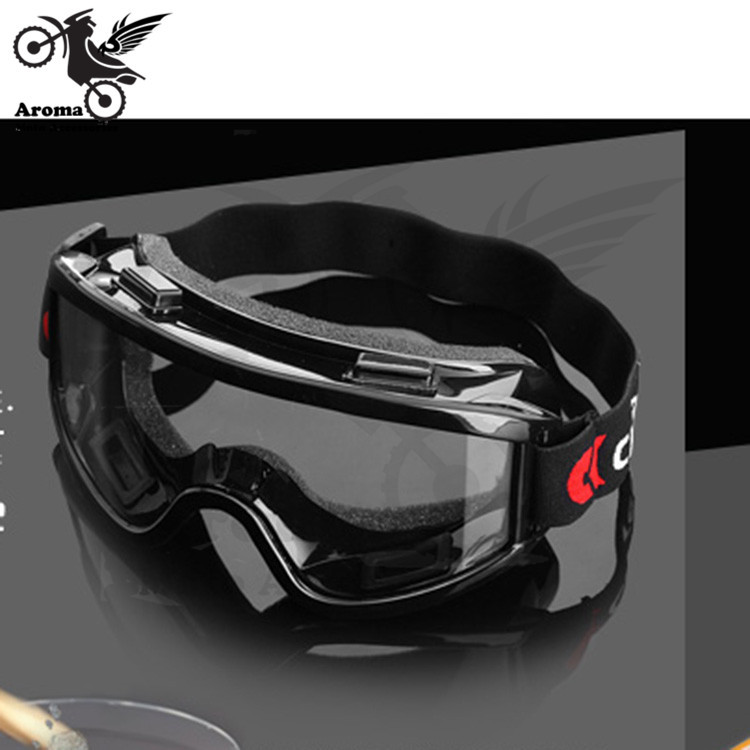 Alta calidad a prueba de viento motocross gafas claro gafas de moto Riding gafas de esquí snowboard bicicleta gafas motocicleta gafas