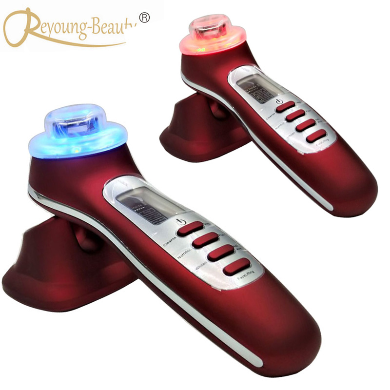Galvanic Current Skin Cleaning Ultrasonic Photon Acne Wrinkle Treatment Skin Rejuvenation Face Lifting IPL Beauty Instruments Galvanic Current Skin Cleaning Ultrasonic Photon Acne Wrinkle Treatment Skin Rejuvenation Face Lifting IPL Beauty Instruments