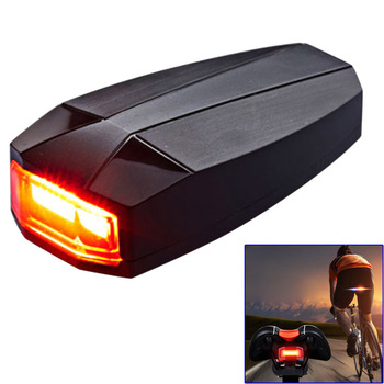 Wireless Smart Bike Light Burglar Alarm Safety Warning Lamp Waterproof Bicycle Rear Intelligent Brake Cycling Taillight YS-BUY image