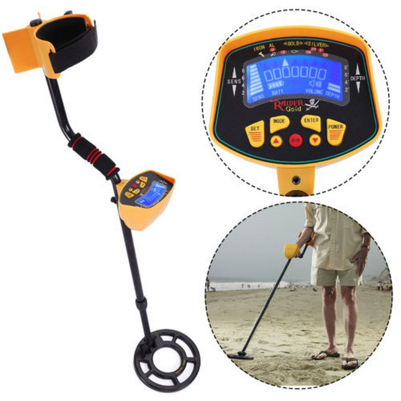 <font><b>MD</b></font>-<font><b>3010</b></font> Portable Underground Waterproof Coil Metal Detector Handheld TreasureTracker Gold Digger Finder Portable Hunter Detector image