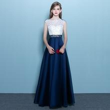 Sleeveless Bördelndes Abendkleid Lange Bodenlangen 2016 Neue Ankunft Formale Brautkleid Customized