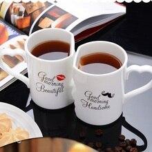 OUSSIRRO 2 шт./компл. пара чашка Керамика Кофе поцелуй Кружка Творческий подарок на день Святого Валентина Свадебный подарок на день рождения