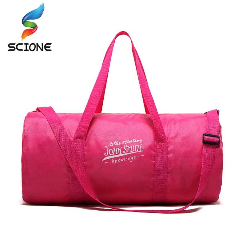 Shoulder-Bags Duffel Gym-Bags Ultralight Foldable Travel Yoga Outdoor Waterproof Women Sports