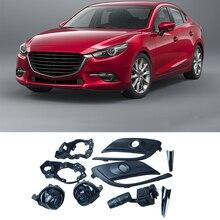 OEM светодио дный Противотуманные фары лампы Комплект для Mazda 3 mazda3 с авто 2016 2017 2018 2019