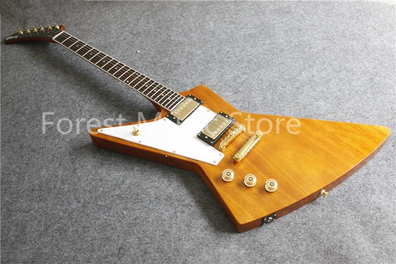 wholesale left handed suneye flying v electric guitar white pickguard dot inlay rosewood. Black Bedroom Furniture Sets. Home Design Ideas