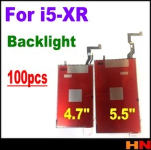 100 قطعة بالجملة آيفون XR 5 5s 6 6S 7 8 plus LCD عرض الخلفية فيلم الضوء الخلفي ثلاثية الأبعاد تعمل باللمس إصلاح أجزاء الملحقات