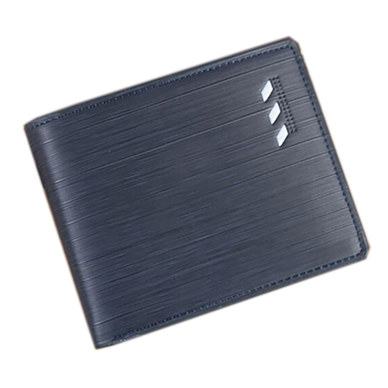 Men s Short Faux Leather Bifold Wallet ID Card Holder Money Cash Purse Clutch BW7S