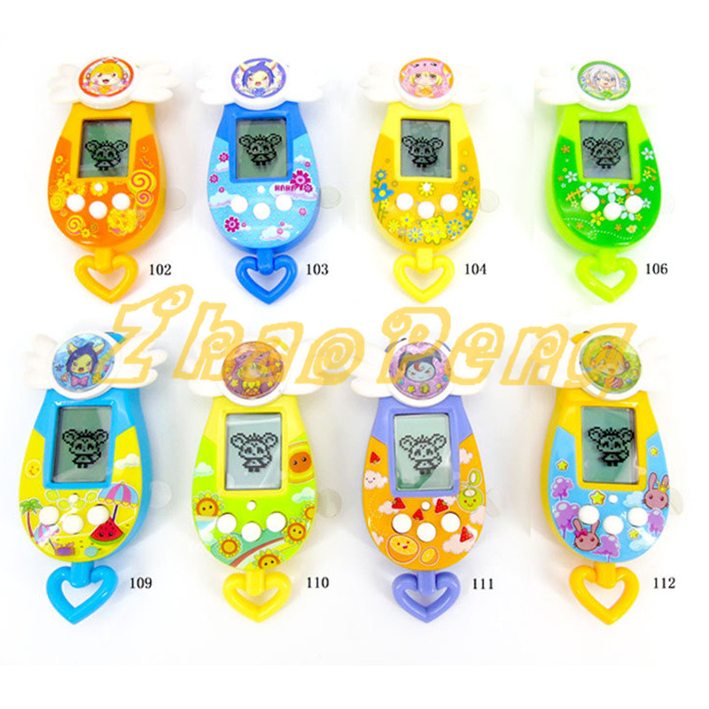 8 Colors Pet Nostalgic Machine Game Virtual Cyber Toy Pet Electronic Pet Game Toys Gift Elves Of Pet Kids Toys Doll Ver