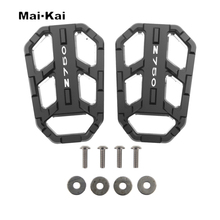 MAIKAI Motorcycle Accessories FOR KAWASAKI Z750 Z 750 2004-2012 CNC Aluminum Alloy Widened Pedals