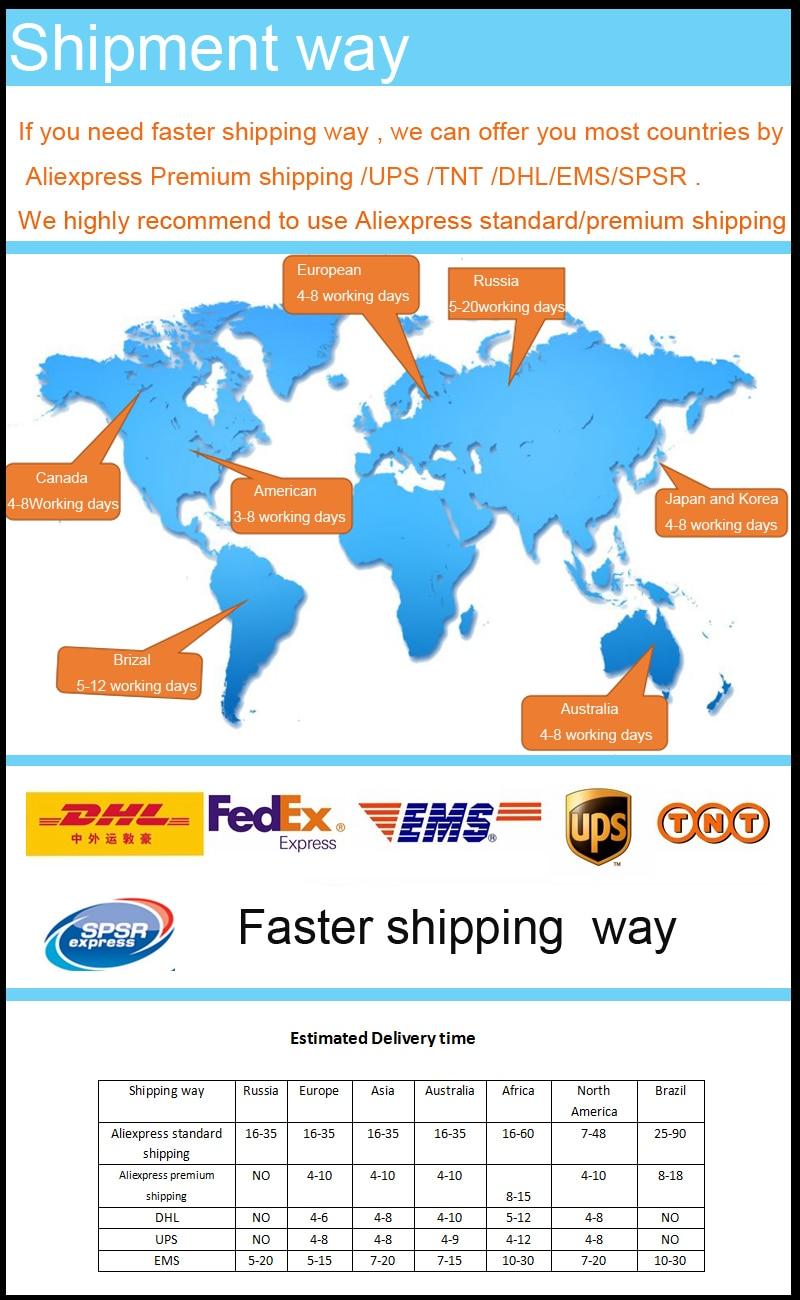 faster shipping way