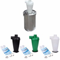 Cyclone Dust Collector Filter Turbocharged Cyclone With Flange Base Separator