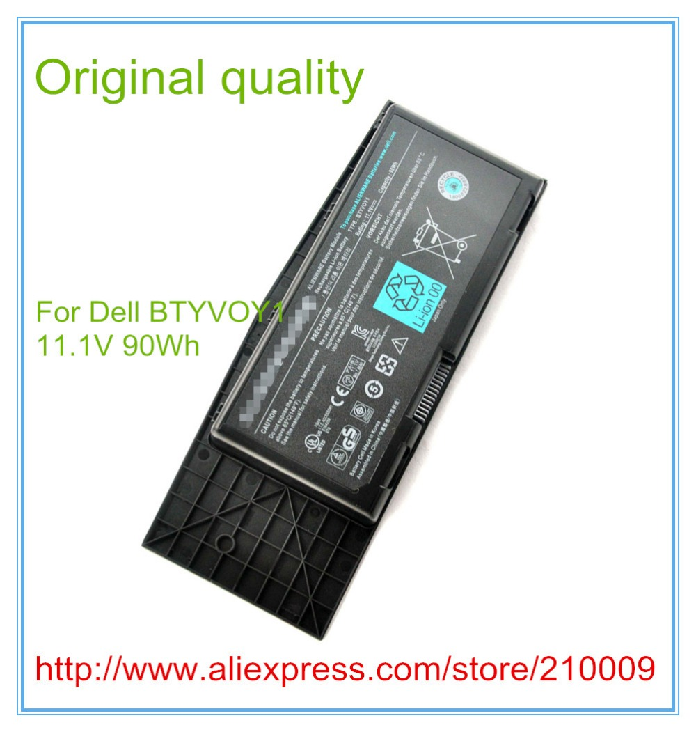 90wh 11.1V Laptop Battery for M17X R3 R4 9CELL For  BTYVOY1 C0C5M 7XC9N BATTERY apexway 6600mah 9 cell laptop battery for dell btyvoy1 for alienware m17x r3 r4 mx 17xr3 mx 17xr4 318 0397 451 11817 7xc9n c0c5m