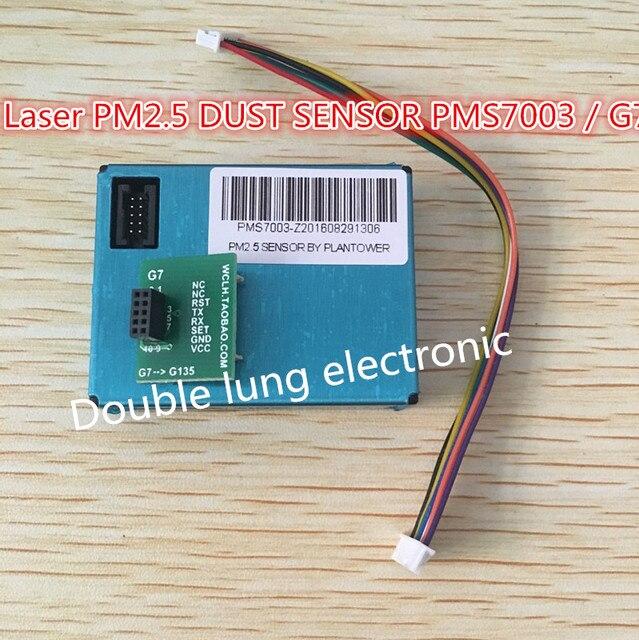 PLANTOWER Laser PM2.5 DUST SENSOR PMS7003 / G7 Thin shape Laser digital PM2.5 sensor (Inculd transfer board + cable)