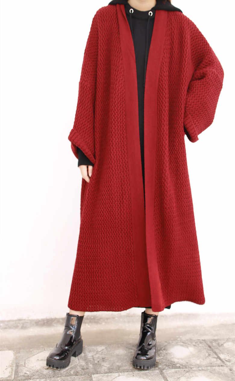 58b9da033b Detail Feedback Questions about maxi long cardigan sweater women ...