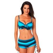 2018 Sexy Bikini Set Summer Swimwear Women Push Up Swimsuit Bathing Suit Two Piece стоимость