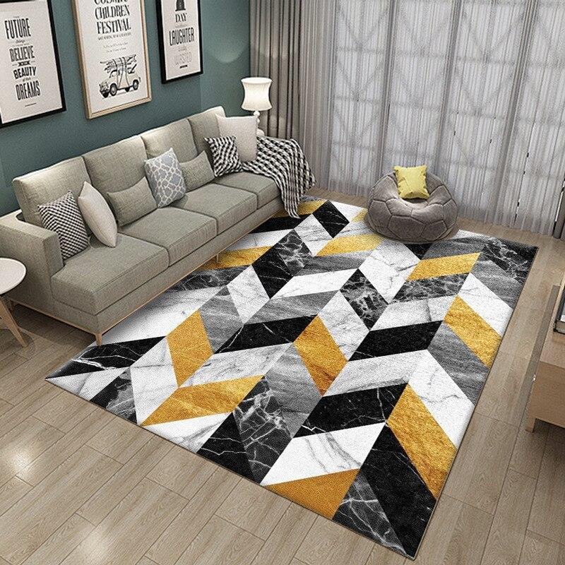 Nordic Ins Bedroom Carpet Modern Rug