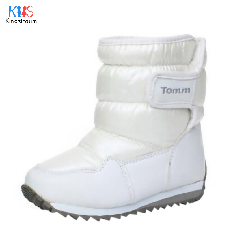 Kindstraum 2018 New Winter Children Waterproof Snow Boots Kids Top Quality 4 Colors Casu ...
