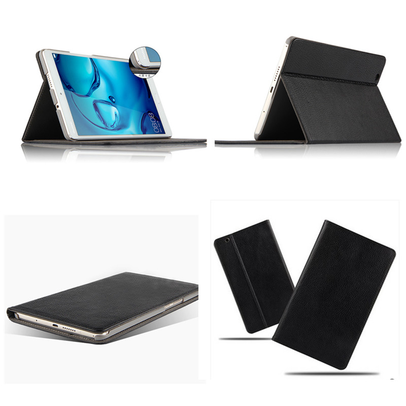 Genuine Leather Case cover For Huawei MediaPad M3 8.4 inch Tablet PC Protective Case For Huawei M3 BTV-W09 BTV-DL09+Film