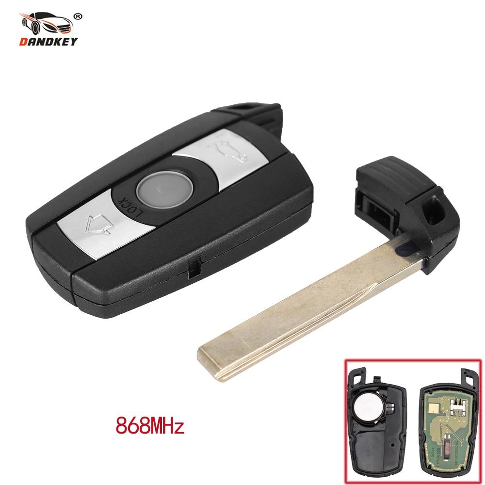 Dandkey 3 Button Remote Car Key Fob 868MHz KR55WK49123 For