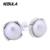 925 Pendientes de Plata con blanco perla Compatible con Pendientes Marca de Joyería
