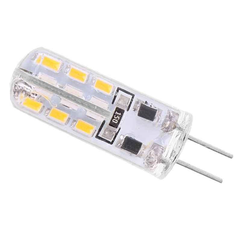 G4 силикагель 3W 24 светодиодный SMD 3014 холодный/теплый белый светильник лампа DC 12