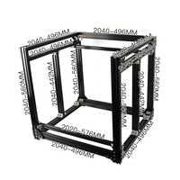 BLV mgn Cube 3D Printer Aluminum Extrusion Frame Full Kit Nuts Screw Bracket Corner For DIY CR10 Z height 365mm