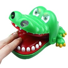 New Creative Trick Toys Prank Funny Alligator Crocodile Biting Finger Family game toys Novelty Gag Toys
