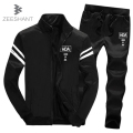 ZEESHANT Men's Casual Suit XXXL Hoodie Sweatshirt  Hip Hop Streetwear Pants Street Sweatshirts Hoodie Tracksuit in Men's Hoodies