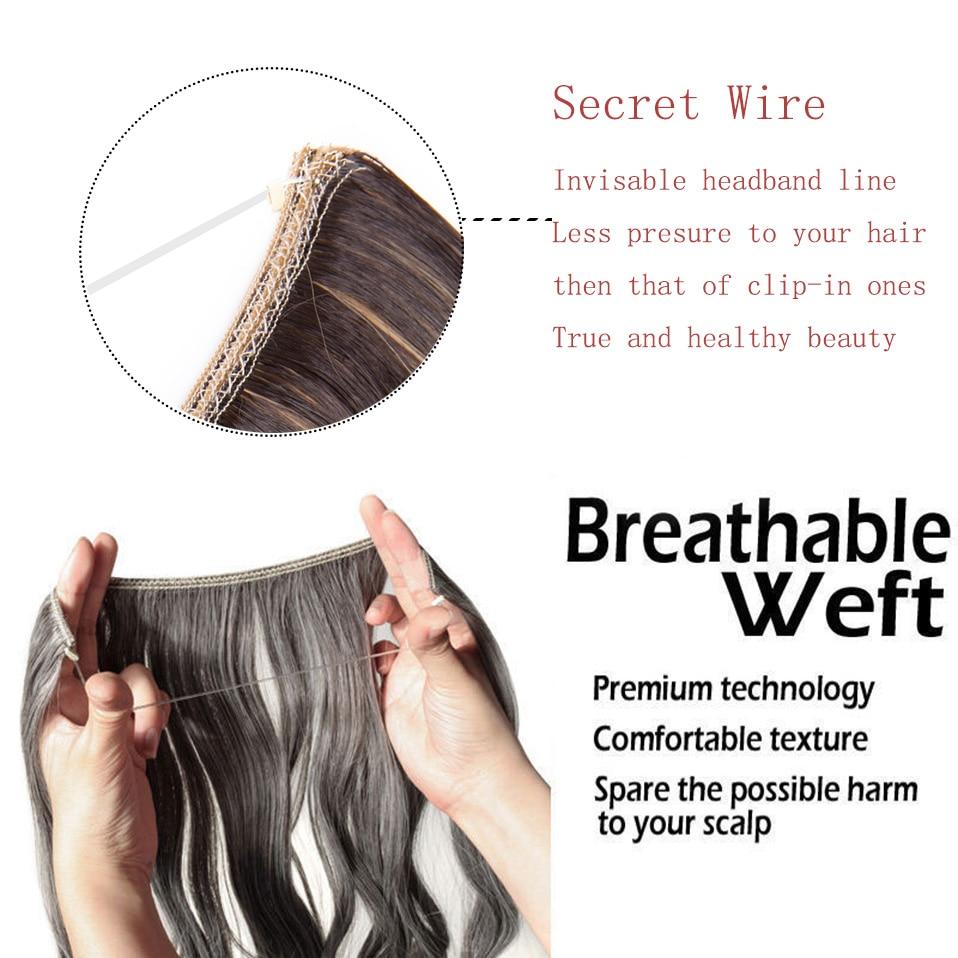 Natural Real Human Hair Extension main