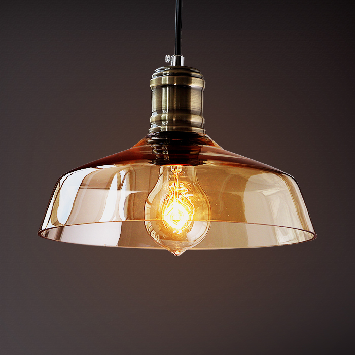 Nordic Glass Edison Pendant Light Fixtures Loft Style Retro Vintage Lamp Industrial Lighting Hanging Lights Lamparas Colgantes