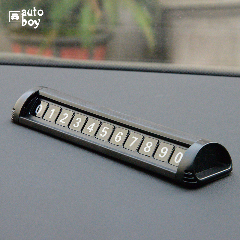 Image 4 - Парковочный номер пластина Автомобильная Временная парковочная карта автомобильные аксессуары для Polo для Skoda Octavia Тур панель для парковки для Mazda 6 GJ