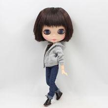 کارخانه Neo Blythe عروسک مردانه Straight Hair Strapped بدن بدن 30cm