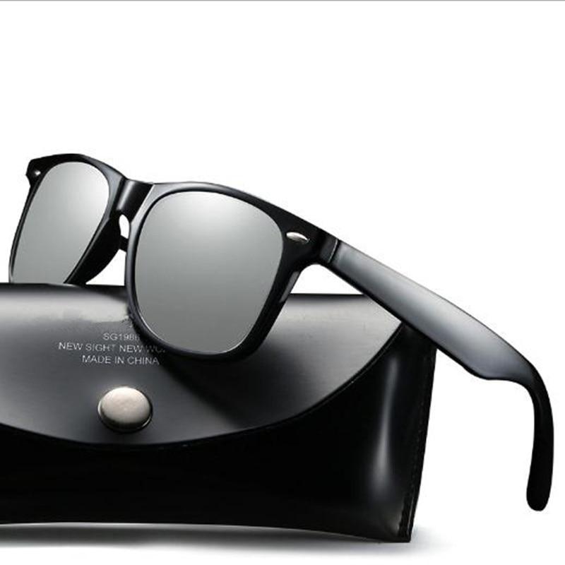 Aabbye Brand Designer Fashion Unisex Sun Glasses Square Vintage Polarized Sunglasses High Quality Fishing Eyewear Oculos Gafas