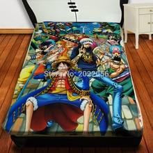 Free Shipping Anime Manga One Piece  Throw Blanket  014