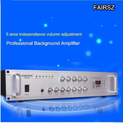 bilder für Engineering-ebene Lautsprecheranlage 5 bereich unabhängig einstellbare Hintergrundmusik Leistungsverstärker 220 V