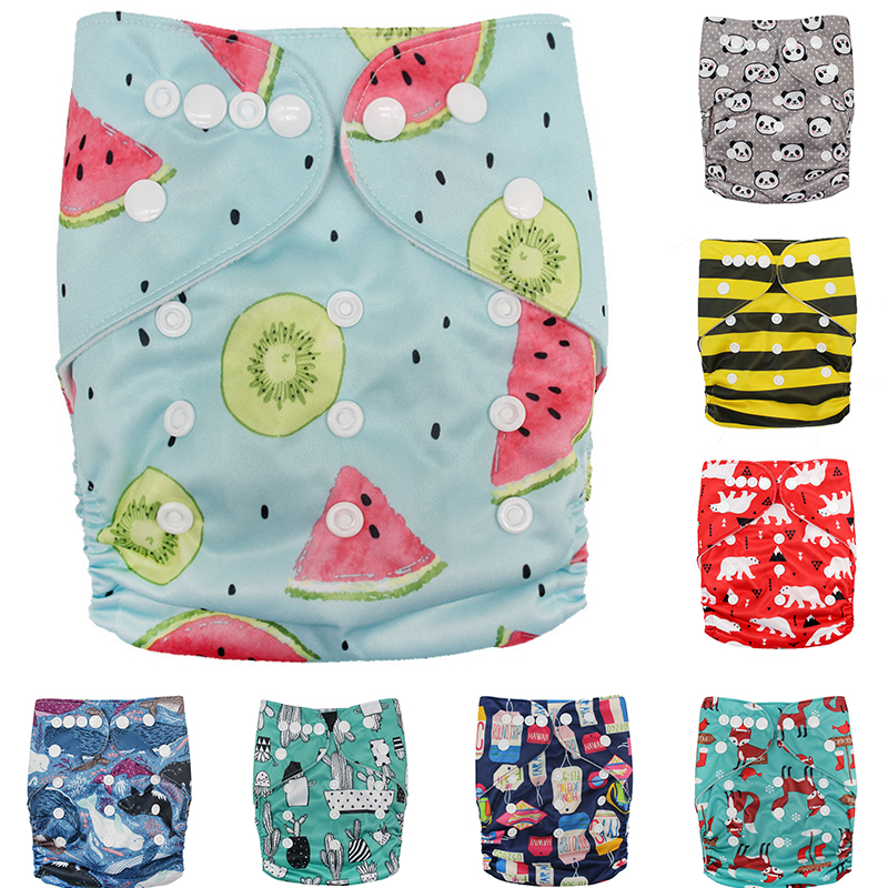 Puseky Baby Swim Diaper Waterproof Adjustable Cloth Diapers Pool Pant Swimming Diaper Cover Reusable Washable Baby Nappies