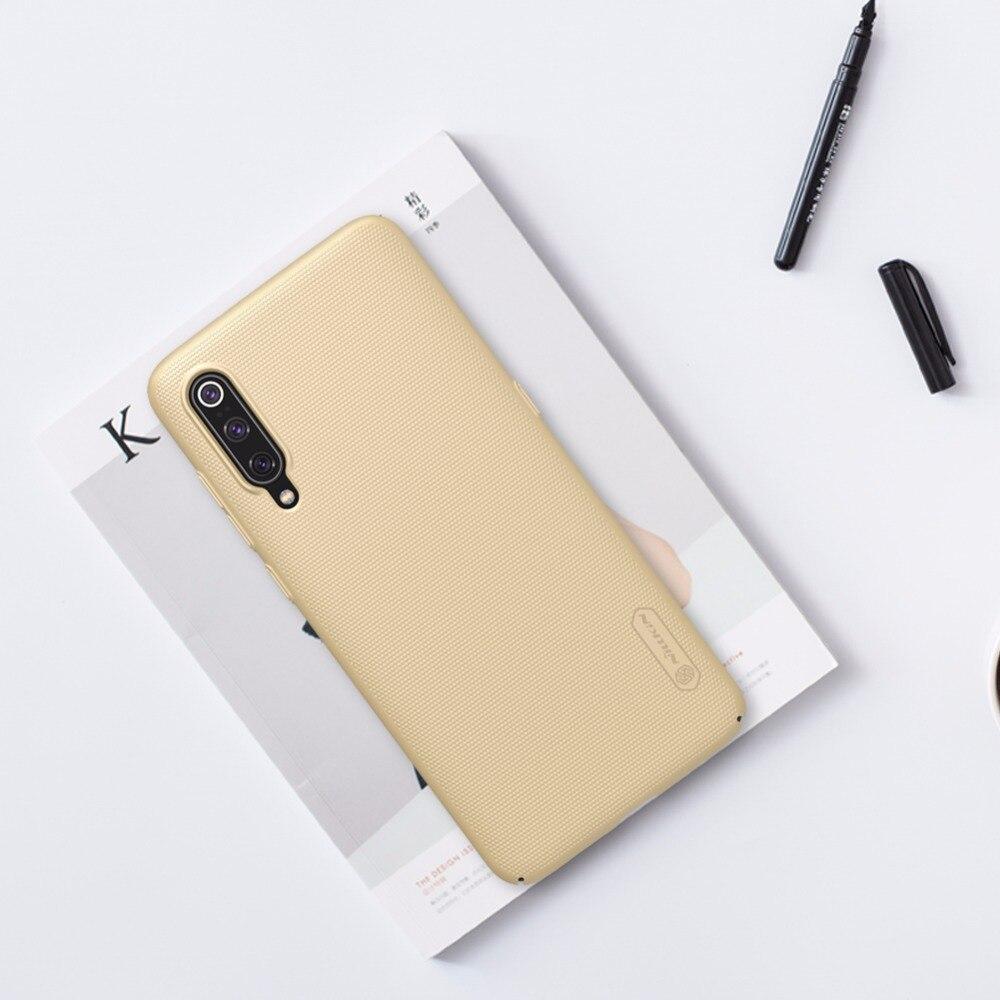 Xiaomi mi 9 Case Xiaomi mi9 Case NILLKIN Super Frosted Shield Hard Back Cover For Xiaomi mi 9 with retail package