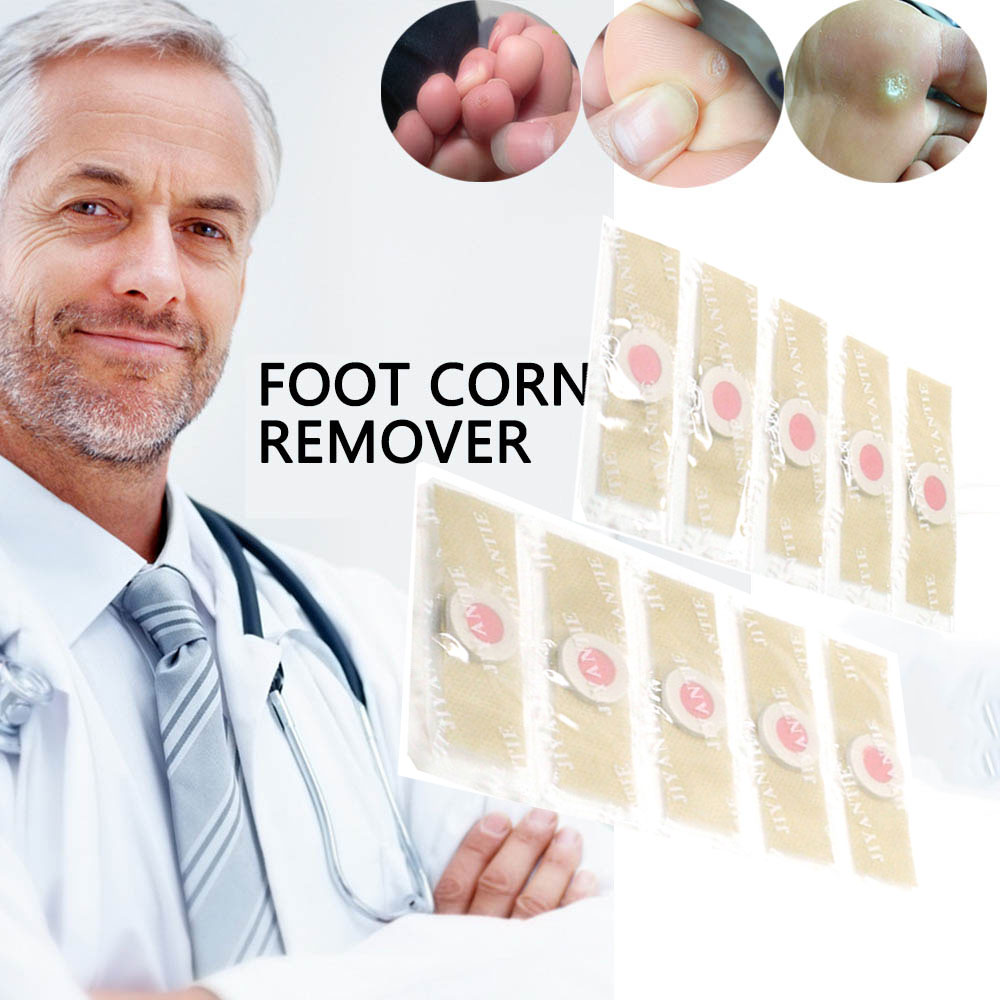 Povihome Detox Foot Pads Patches Feet Care Medical Plaster Foot Corn Removal Remover Plaster D0722