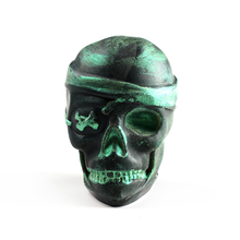 Nicole Skull Silicone Mold for Natural Handmade Soap Bath Bomb Halloween Chocolate Candy Mould