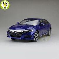 1/18 Honda Accord 10th седан литья под давлением Металл Модель автомобиля игрушки для мальчиков и девочек подарок коллекция хобби синий