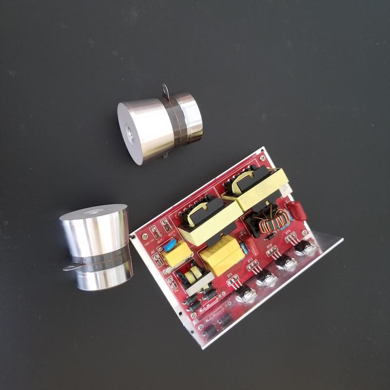 120 вт ультразвуковой небольшой PCB 220 В 40 кГц может управлять двумя пьезоцерамные датчик ультразвукового очистителя